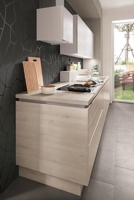 Een rechte keuken ontdekt u bij formido   topkwaliteit tegen lage ...