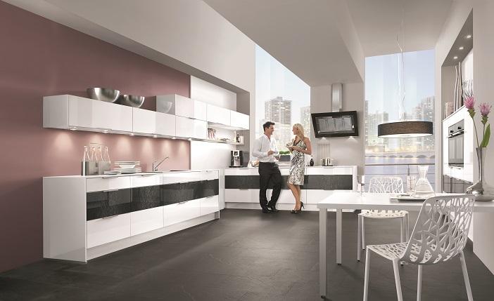 witte keuken  voor een frisse en ruimtelijke uitstraling, Meubels Ideeën