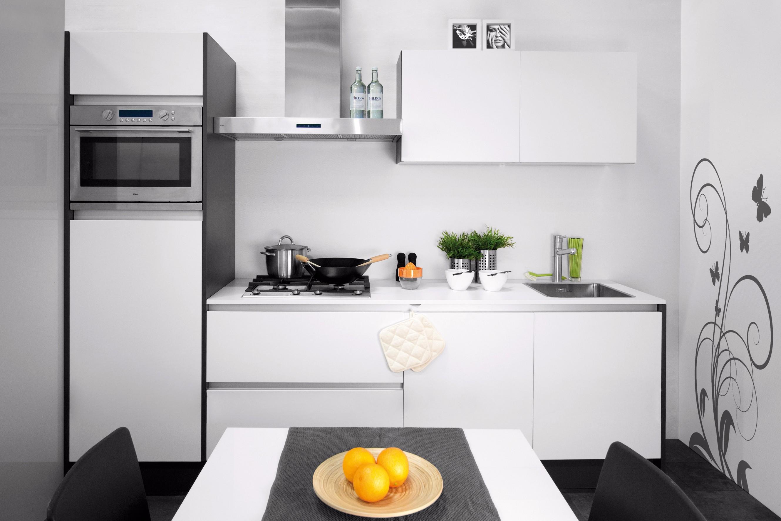 Een kleine keuken van topkwaliteit ontdekt u bij formido